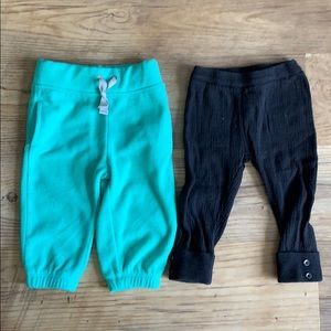 Lot of 2 Carters 9 month pants